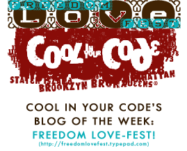 Freedom Love-Fest in-Cool-in-Your-Code